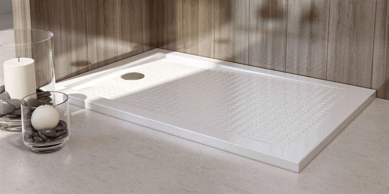 Plato de ducha acrilico extraplano rectangular for Plato de ducha acrilico