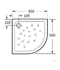 Plato de ducha malta angular extraplano for Plato de ducha malta